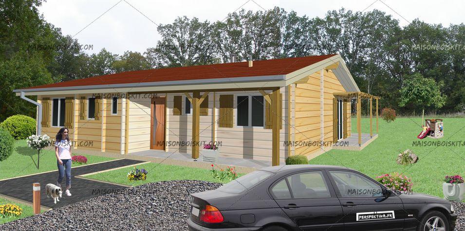 Construction bois prix m2