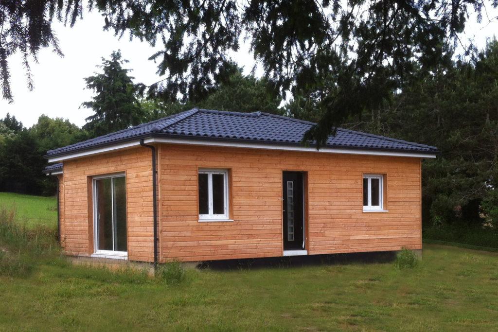 constructeur de maison en bois pas cher maison parallele. Black Bedroom Furniture Sets. Home Design Ideas