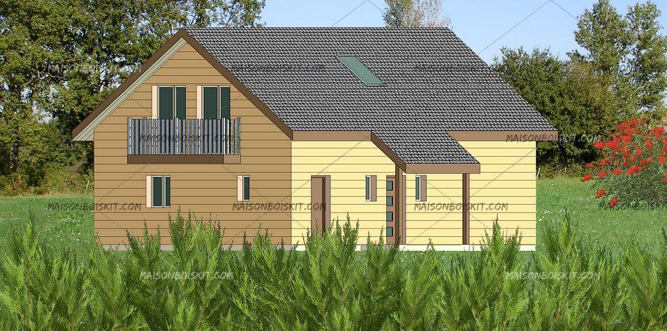 maison en bois archives page 4 of 15 maison parallele. Black Bedroom Furniture Sets. Home Design Ideas