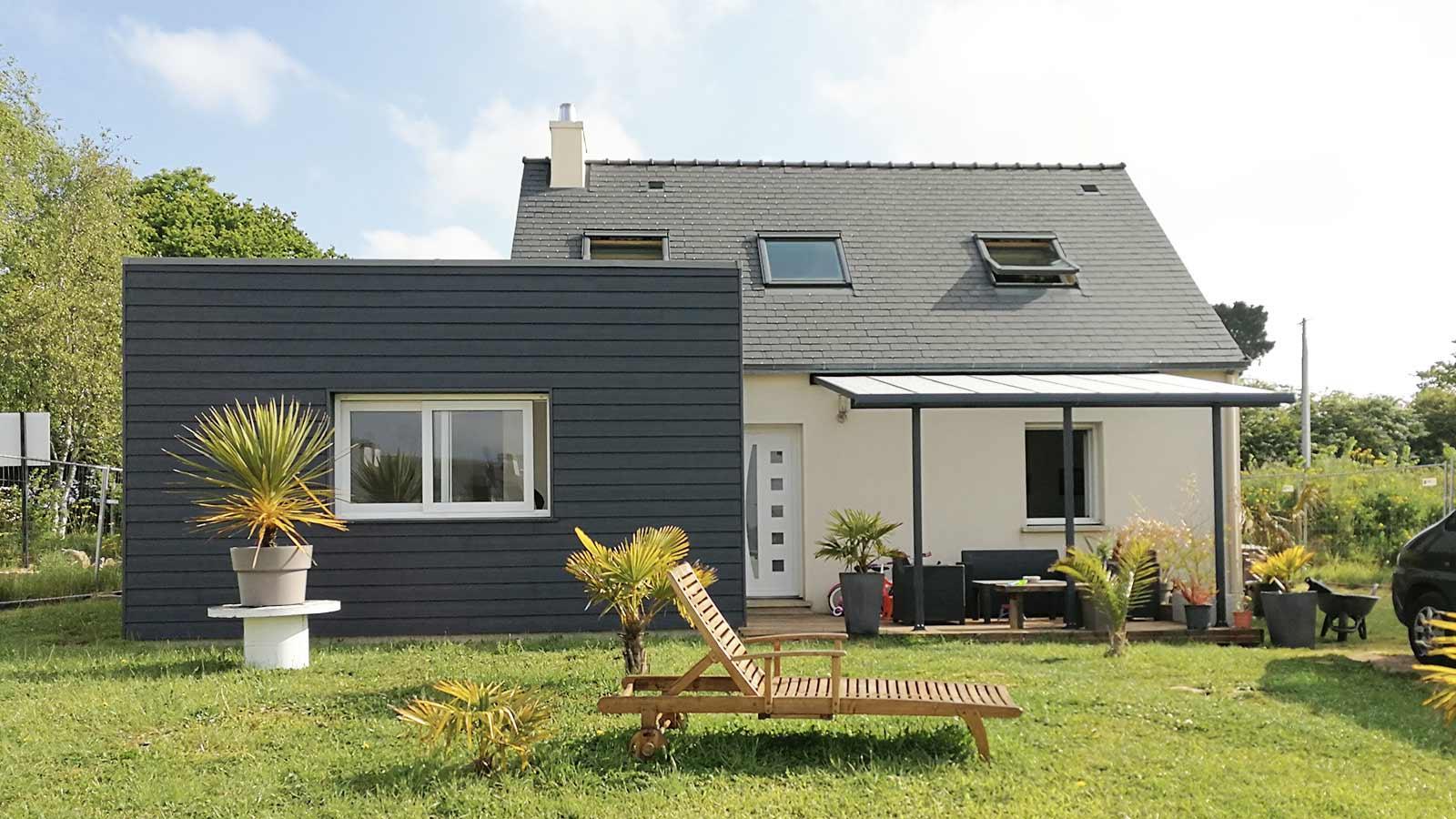Prix maison bois m2 - maison parallele