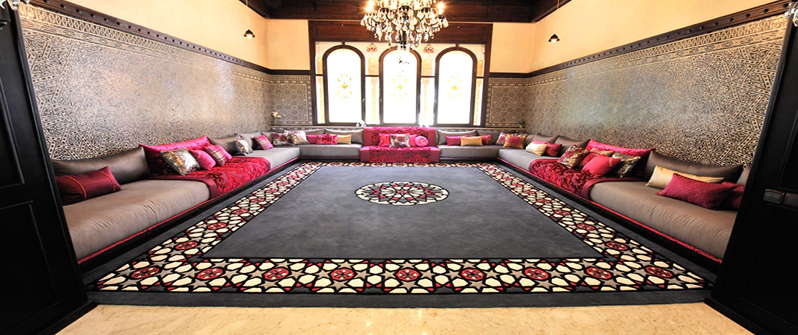 Tapis salon marocain