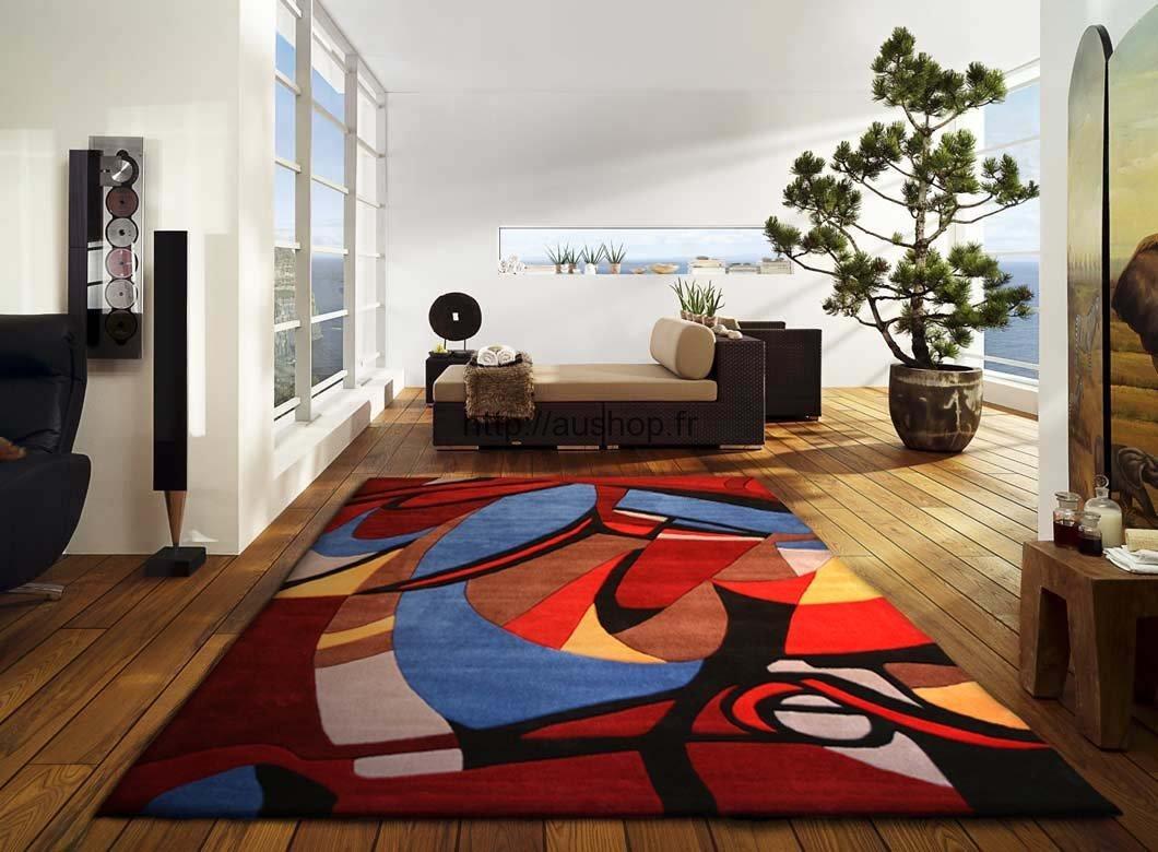 tapis salon soldes maison parallele. Black Bedroom Furniture Sets. Home Design Ideas