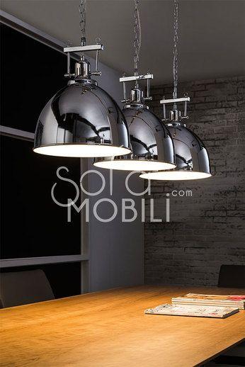 Luminaire suspension cuisine design