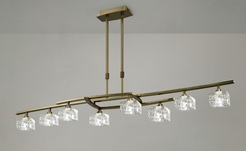 Suspension design contemporain