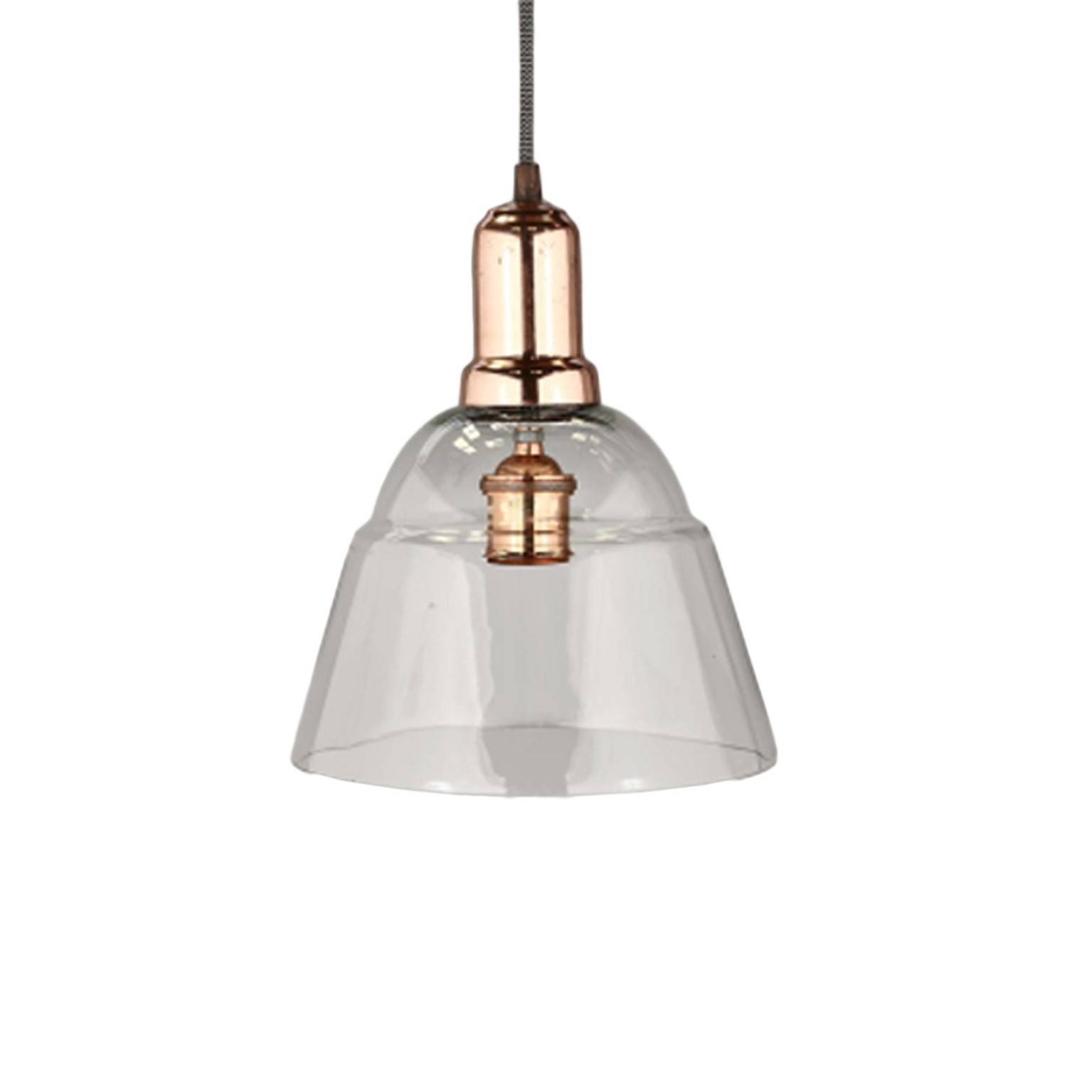 Suspension style industriel verre