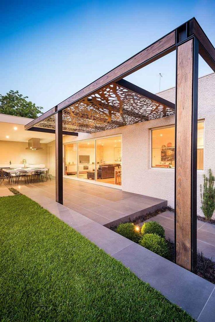 pergola electrique maison parallele. Black Bedroom Furniture Sets. Home Design Ideas