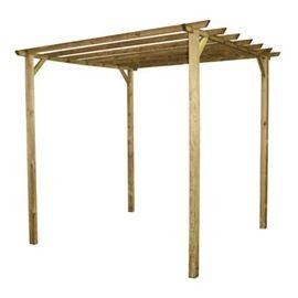 Tonnelle bois 3×3