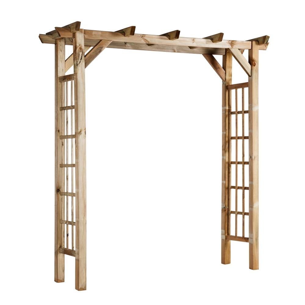 Arche bois pour jardin