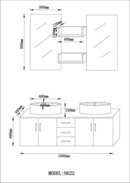 Grand Dimension Meuble Vasque Salle De Bain