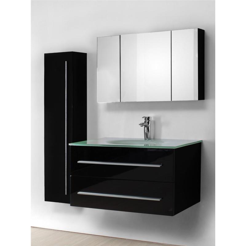 Meuble salle de bain avec evier maison parallele Creer son meuble de salle de bain