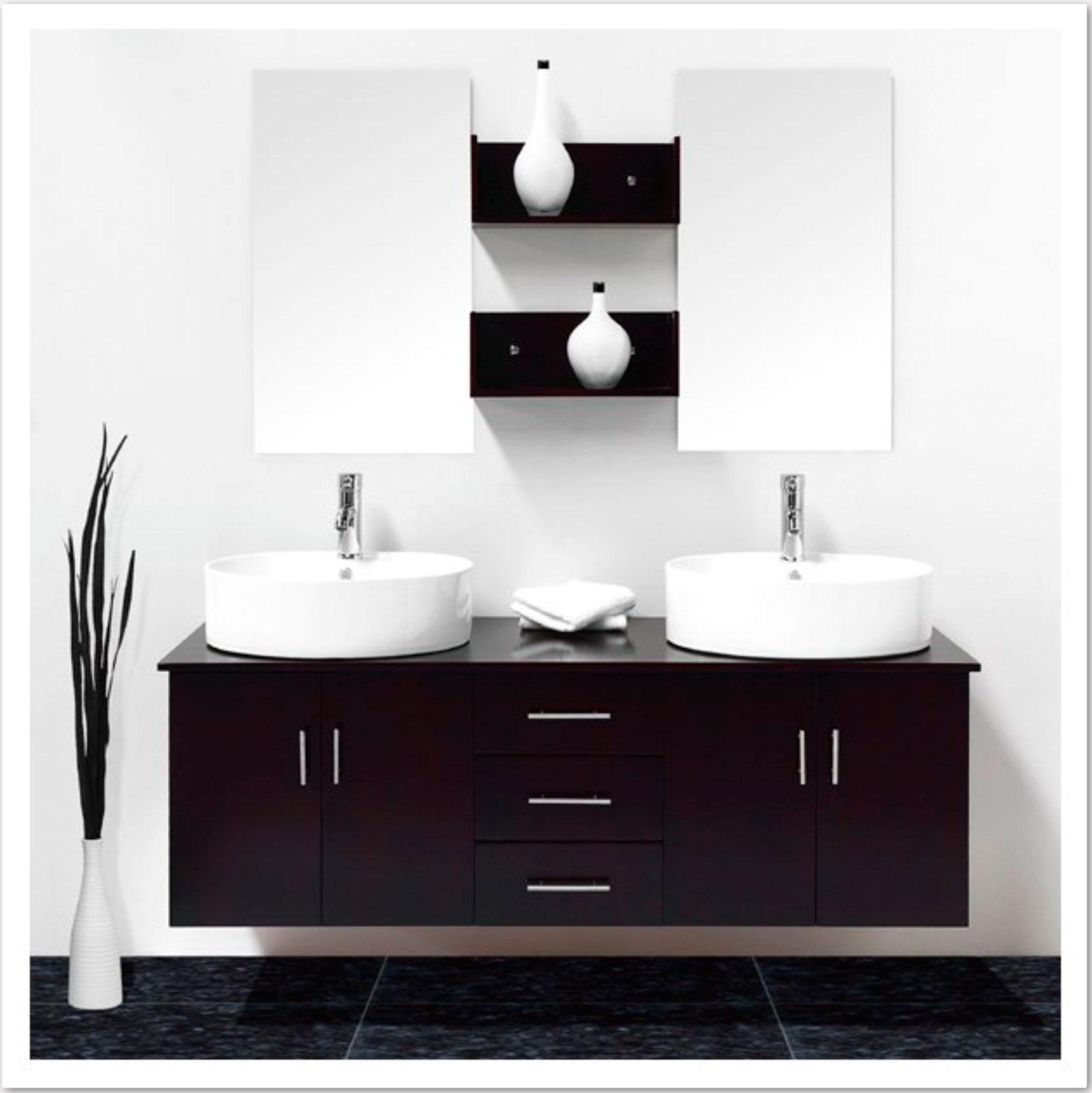 Meuble salle bain double vasque