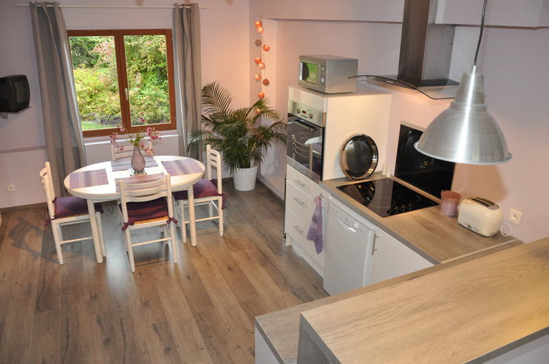 Sejour cuisine 20m2 maison parallele - Salon cuisine 20m2 ...
