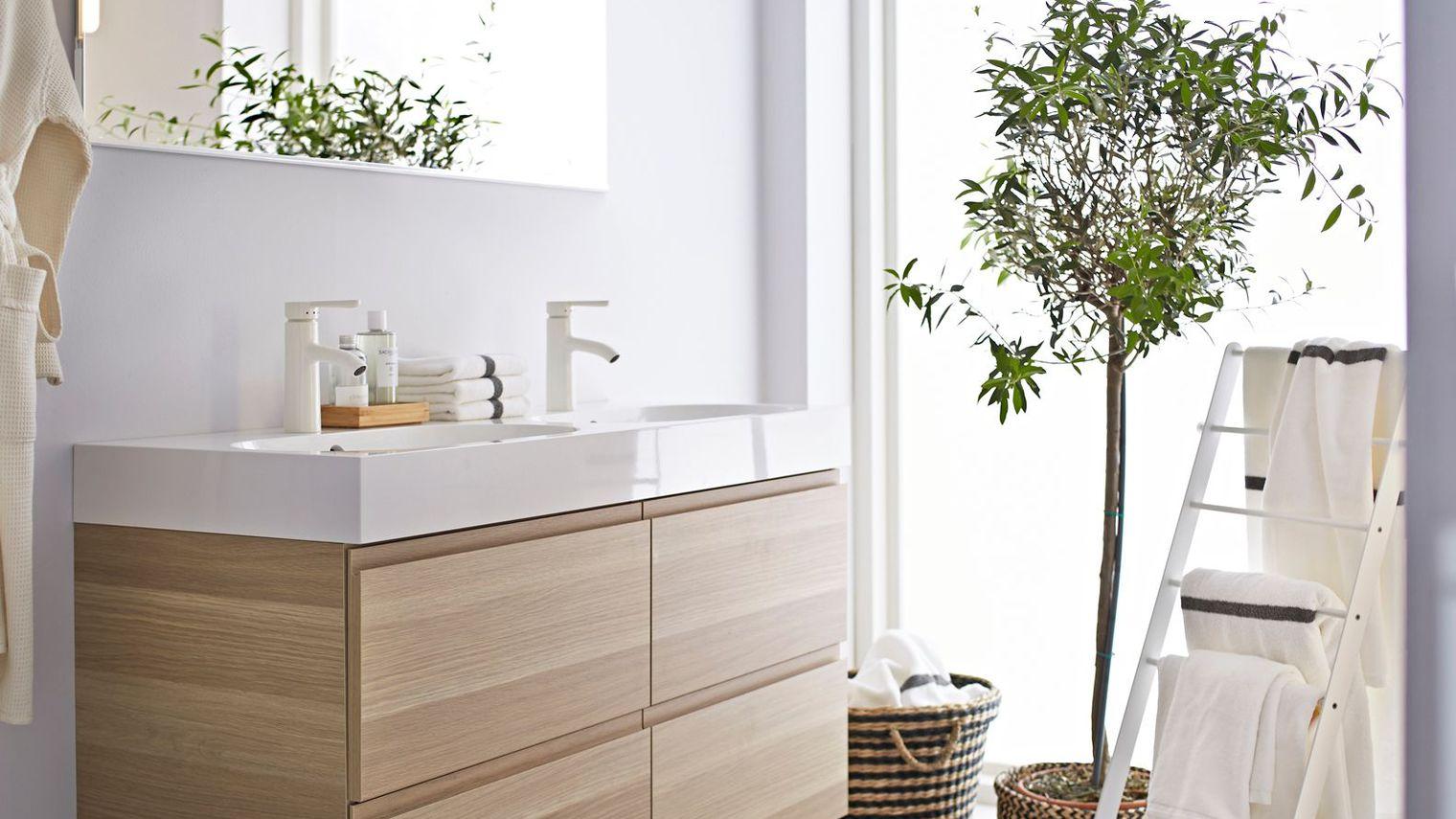 Acheter meuble salle de bain pas cher maison parallele - Salle de bain originale et pas chere ...