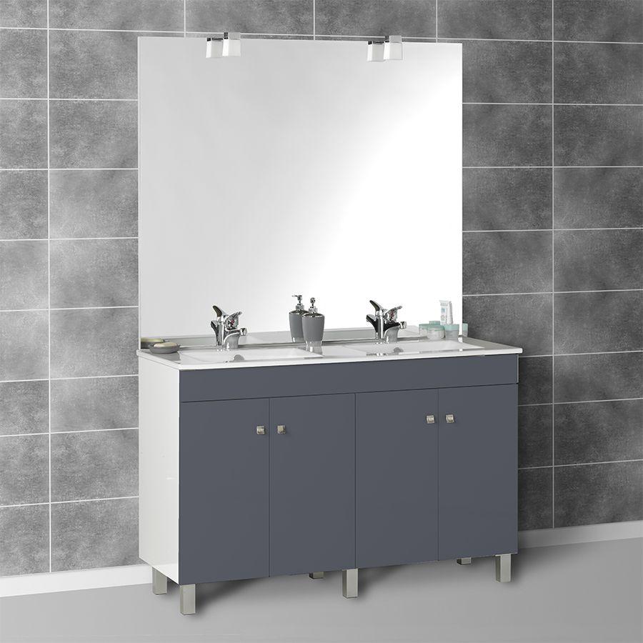 Vasque salle de bain avec meuble