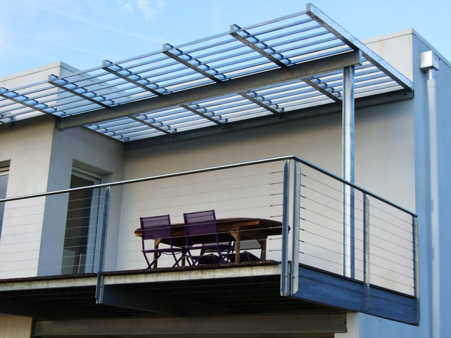 Pergolas metal pour terrasse