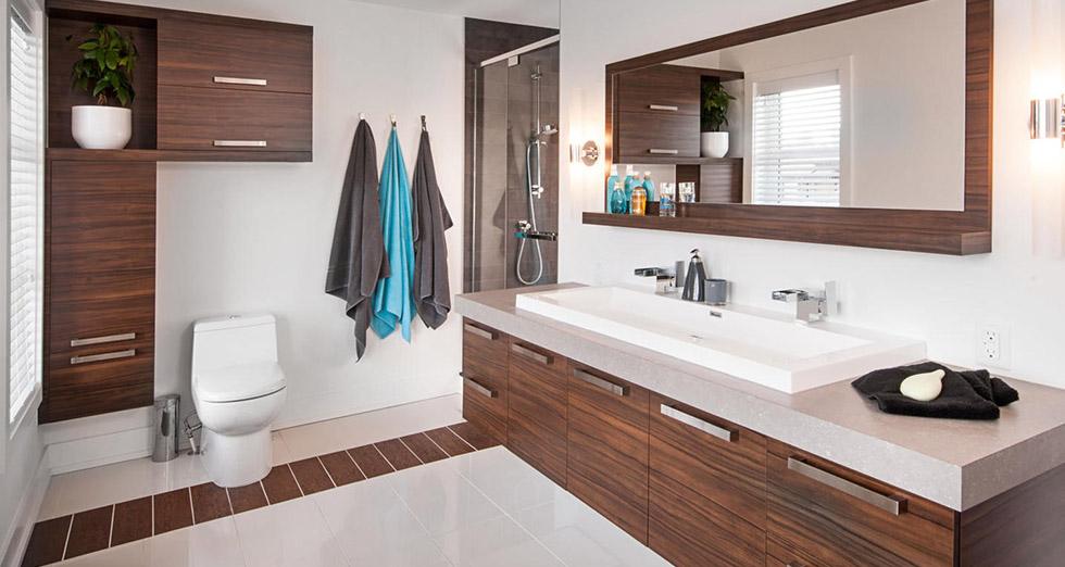 Salle de bain armoire