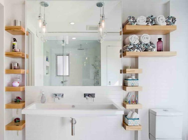 Rangement salle de bain design