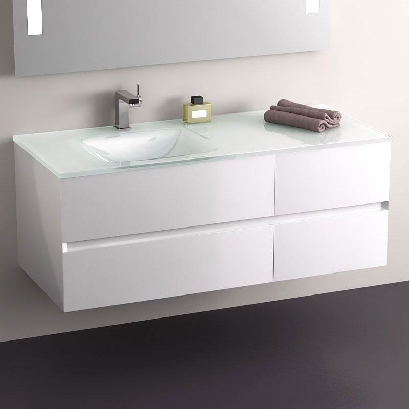 Awesome Vasque Salle De Bain Blanche Longueur 120 Ideas - House ...