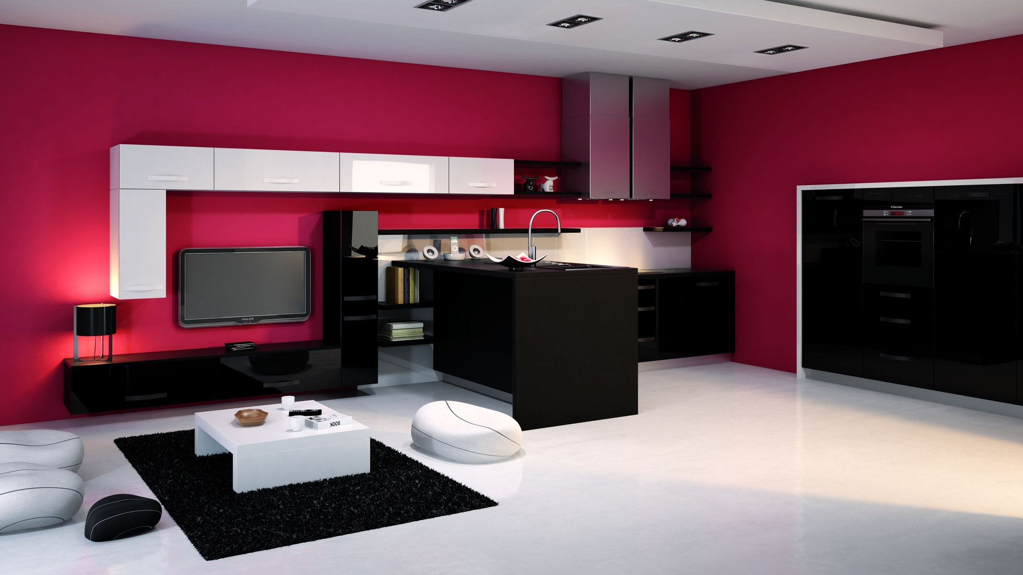 Incroyable Deco Separation Cuisine Salon