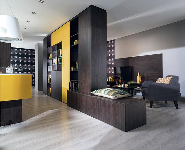 cuisines ouvertes sur salon maison parallele. Black Bedroom Furniture Sets. Home Design Ideas