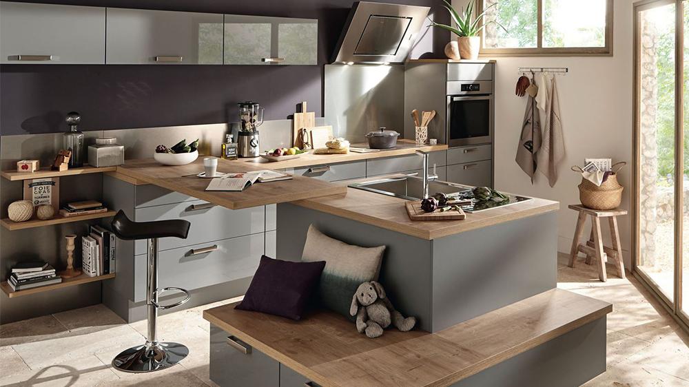 Salon cuisine ouvert
