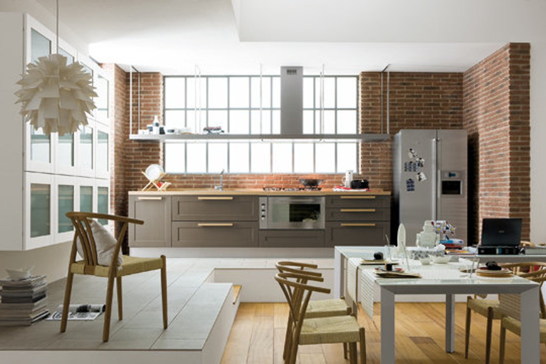 Salon cuisine 35m2 maison parallele - Amenagement cuisine salon ...