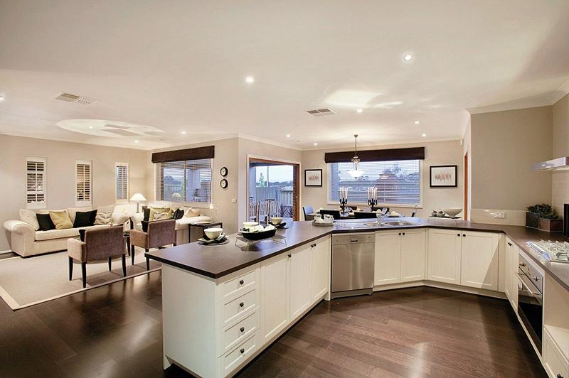 Interieur maison cuisine ouverte - maison parallele