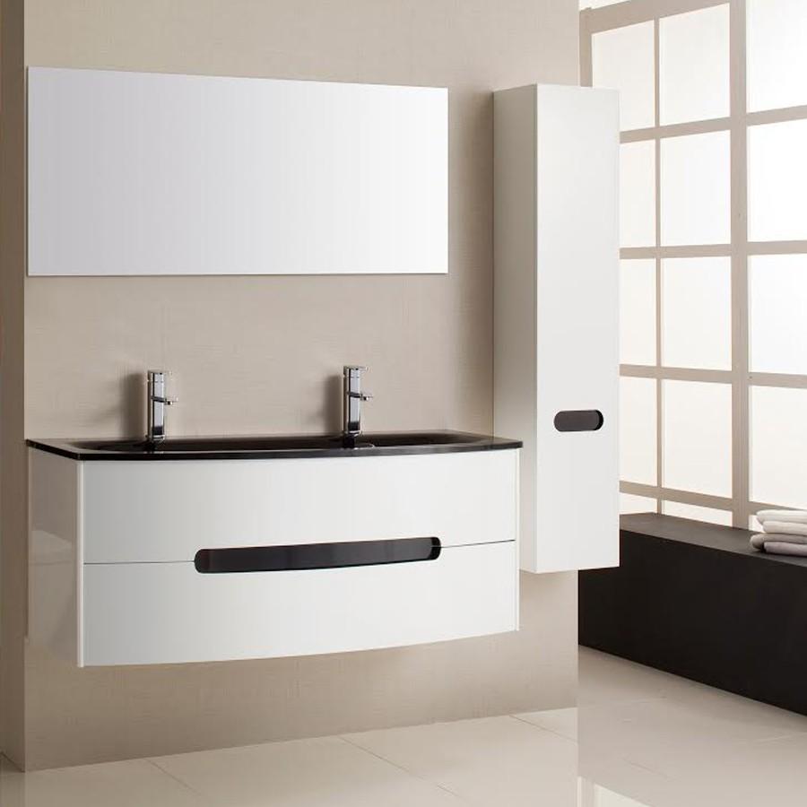 Armoire salle de bain blanc