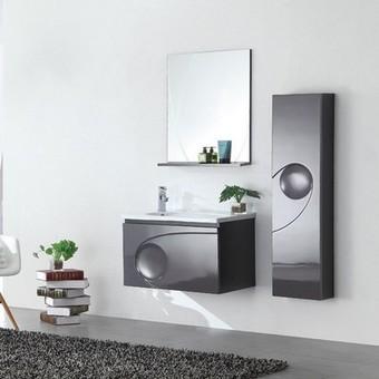 Ensemble salle de bain design   maison parallele