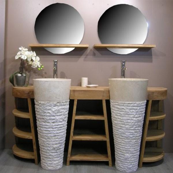 Ensemble vasque meuble salle de bain   maison parallele