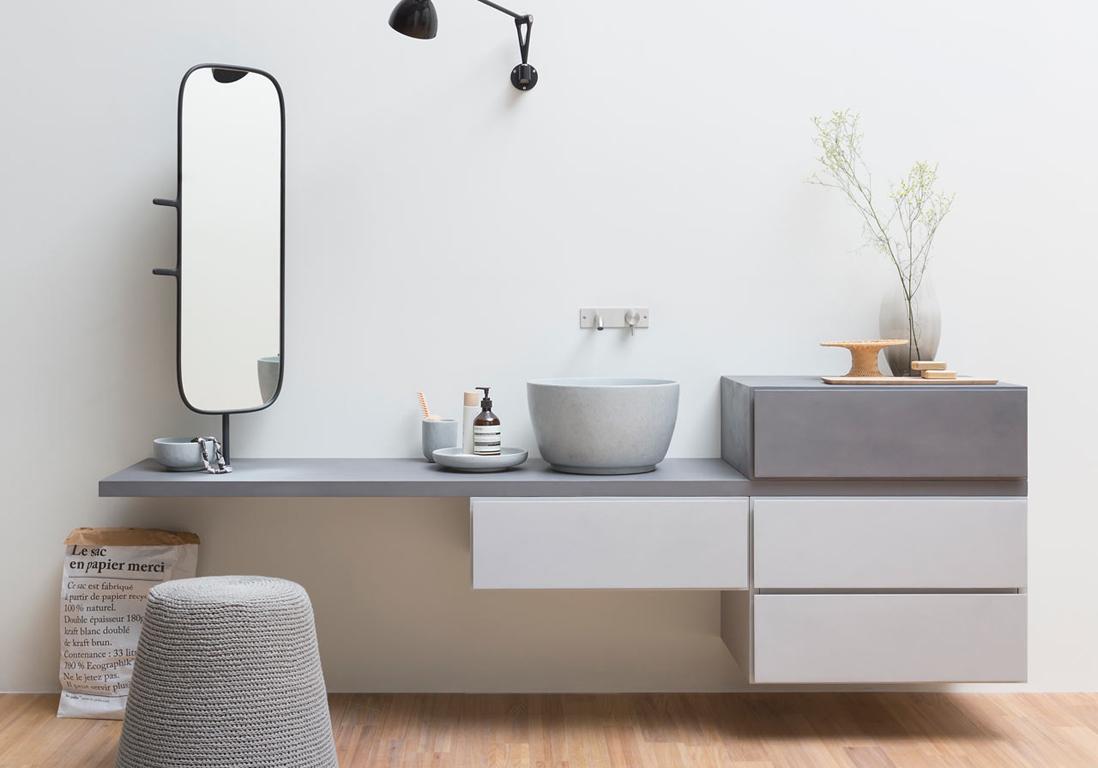 Meuble de salle de bain design discount