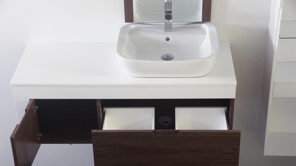 Meuble salle de bain pour vasque