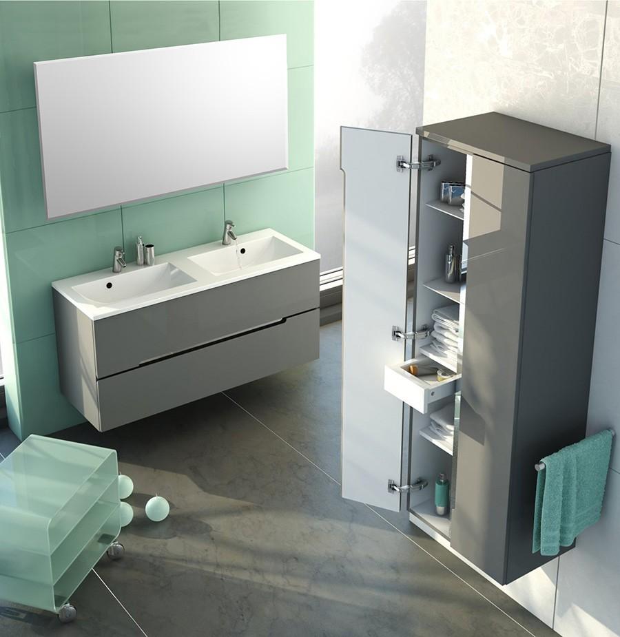 Meuble avec vasque pour salle de bain