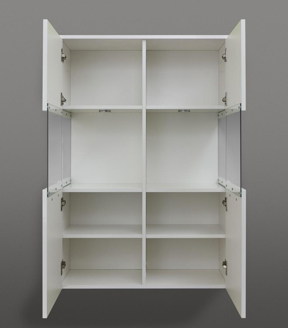 Meuble de rangement salle de bain design maison parallele Creer son meuble de salle de bain