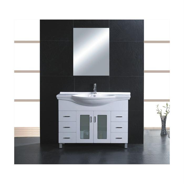 Evier salle de bain avec meuble maison parallele - Evier salle de bain ...