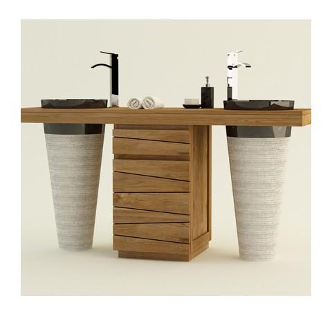 Meuble salle bain original