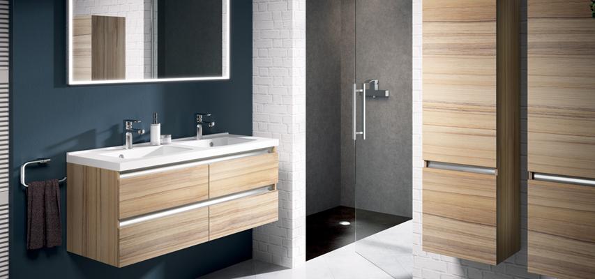 Meuble de salle bain bois