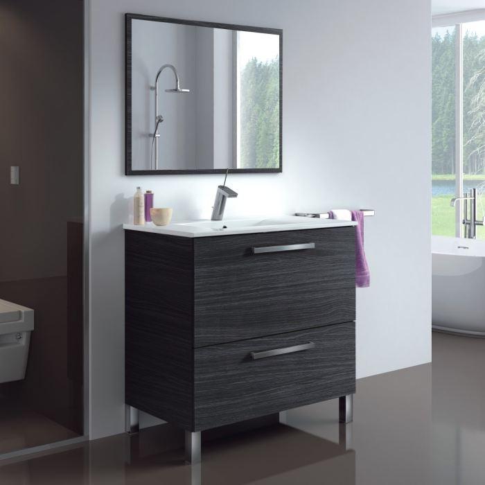 Vasque et meuble salle de bain pas cher maison parallele - Armoire de salle de bain pas cher ...