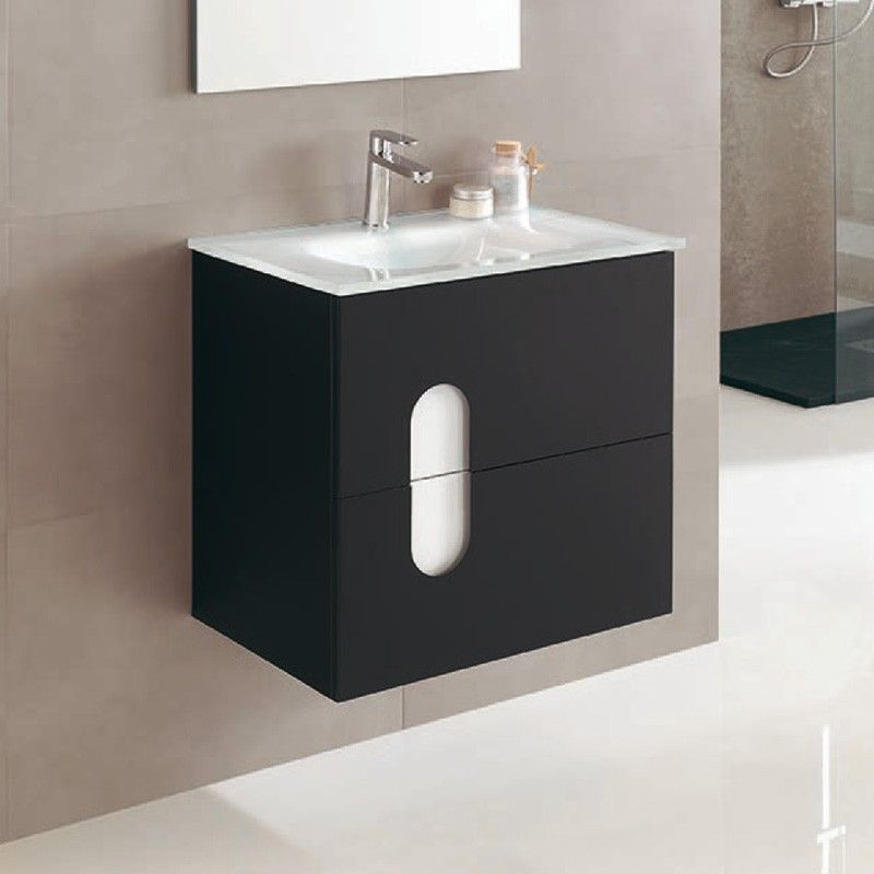 Meuble salle de bain en 60 cm