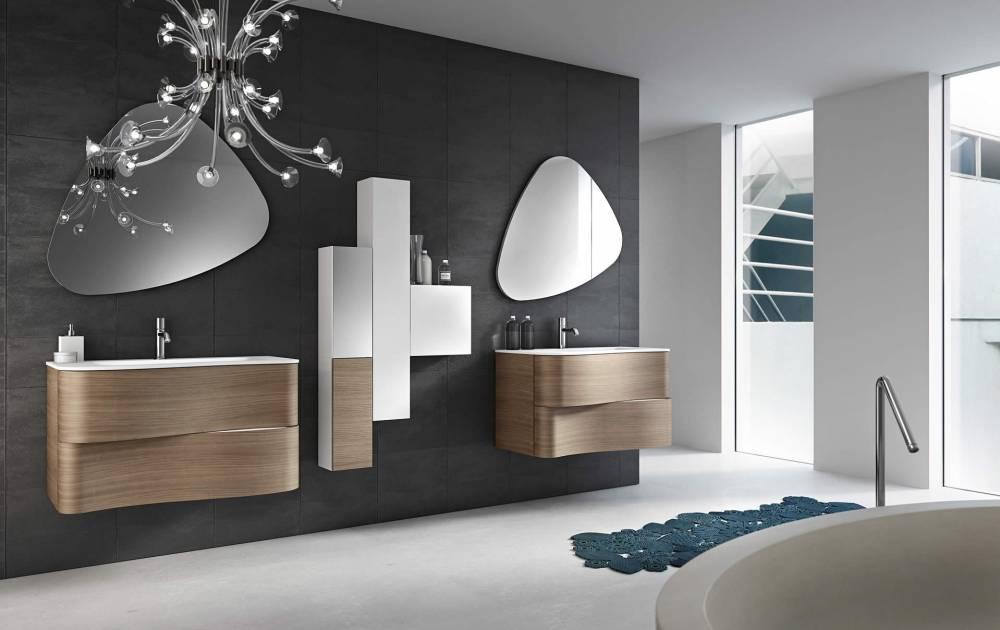 Meuble salle de bain design promo