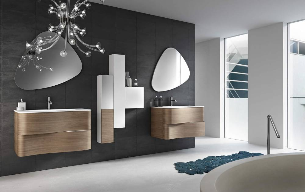 meuble salle de bain contemporain maison parallele. Black Bedroom Furniture Sets. Home Design Ideas