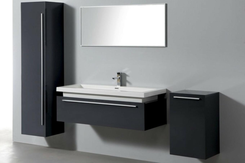 Meuble salle de bain design pas cher maison parallele - Mobilier de salle de bain pas cher ...