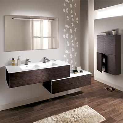 Meuble de salle de bain moderne