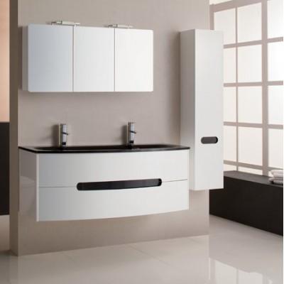Meuble de salle de bain moderne pas cher maison parallele - Mobilier de salle de bain pas cher ...
