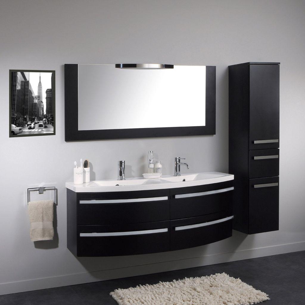 Meuble salle de bain design double vasque