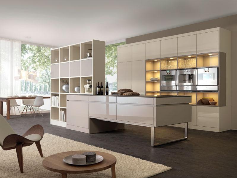 Meuble separation salon cuisine - maison parallele