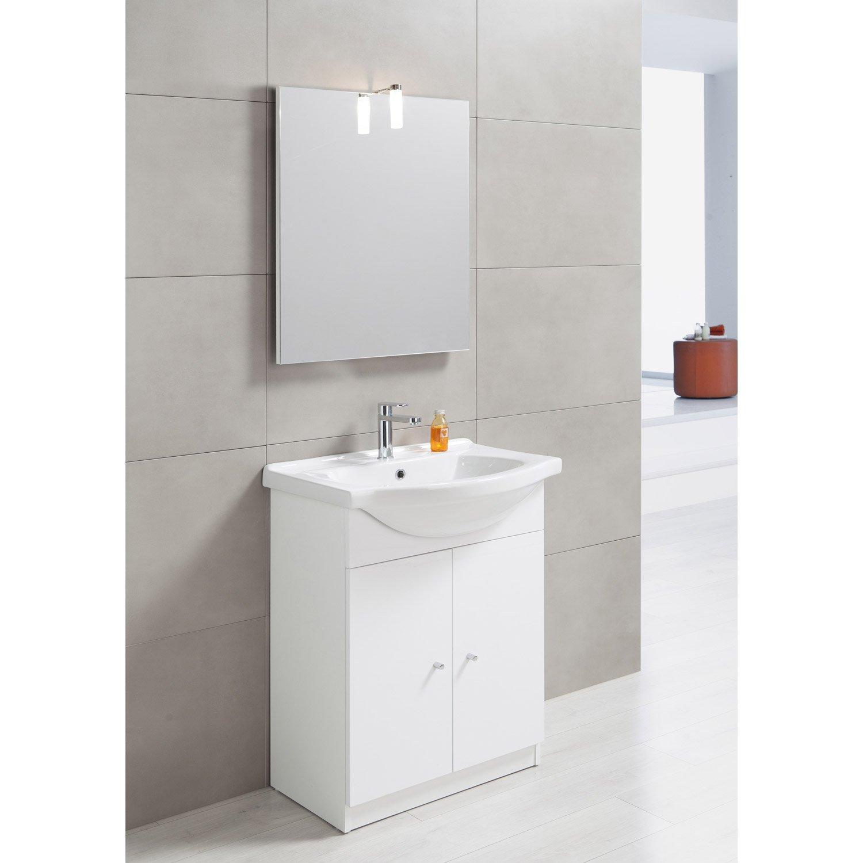 Meuble avec lavabo pour salle de bain