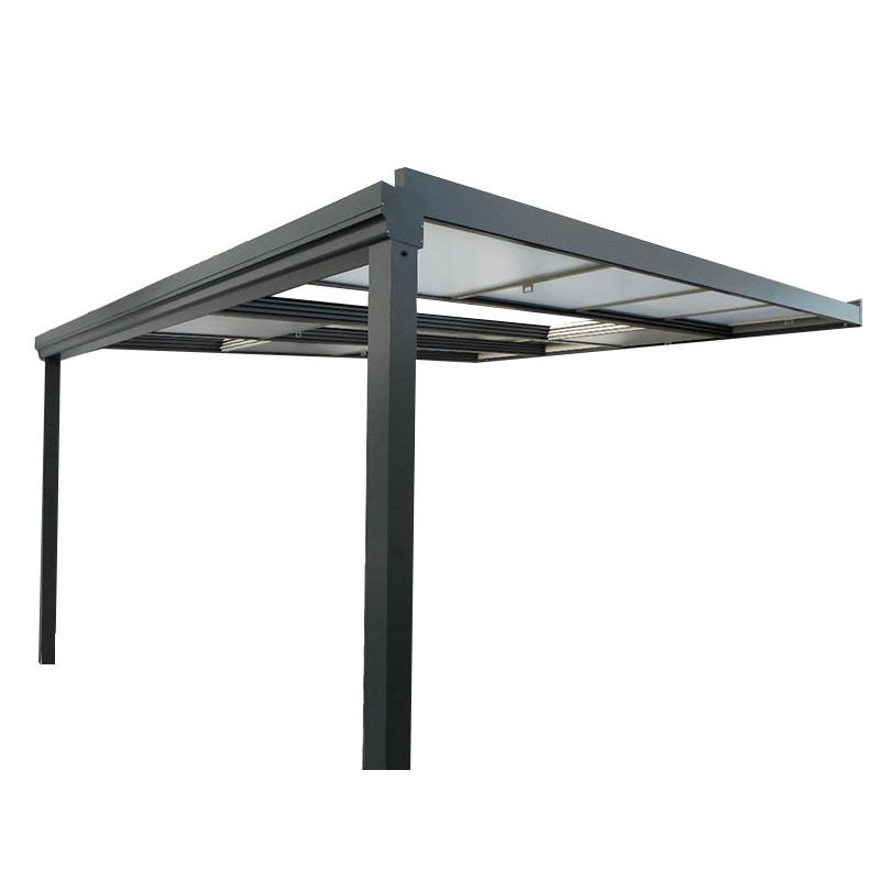 pergola toit retractable pas cher maison parallele. Black Bedroom Furniture Sets. Home Design Ideas