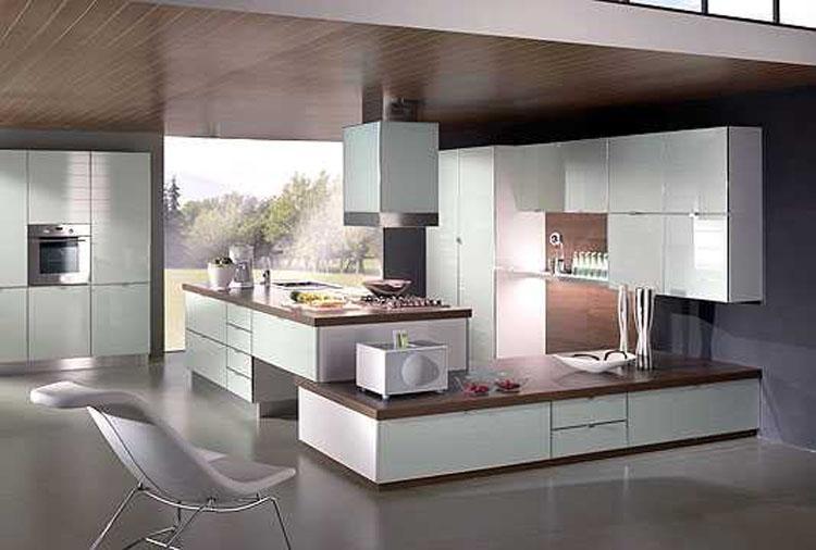 Cuisine Aménagée Moderne Maison Parallele