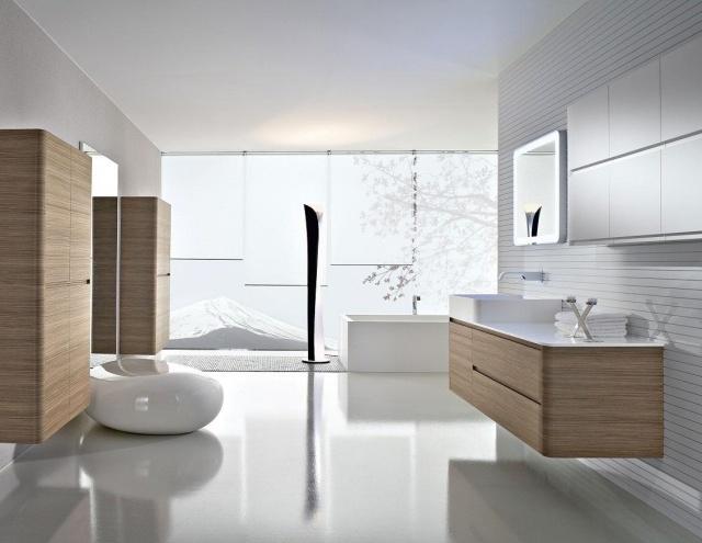 Meuble salle de bain moderne